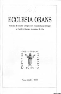 cover of Ecclesia orans
